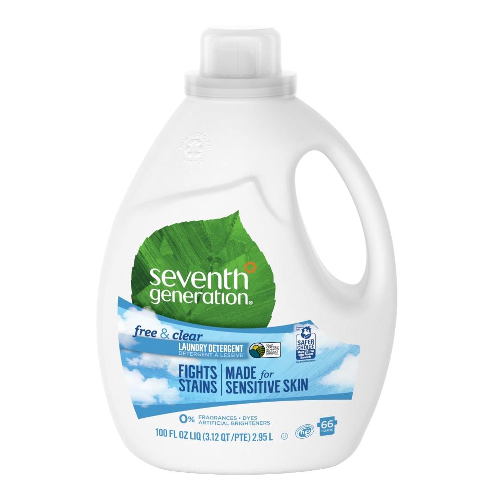 Ralphs Seventh Generation Free Clear Liquid Laundry Detergent