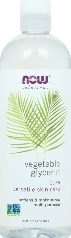 Food 4 Less - NOW Foods Solutions Vegetable Glycerine Lotion, 16 fl oz
