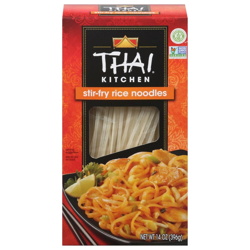 Thai Kitchen Gluten Free Stir Fry Rice Noodles Perspective: Front
