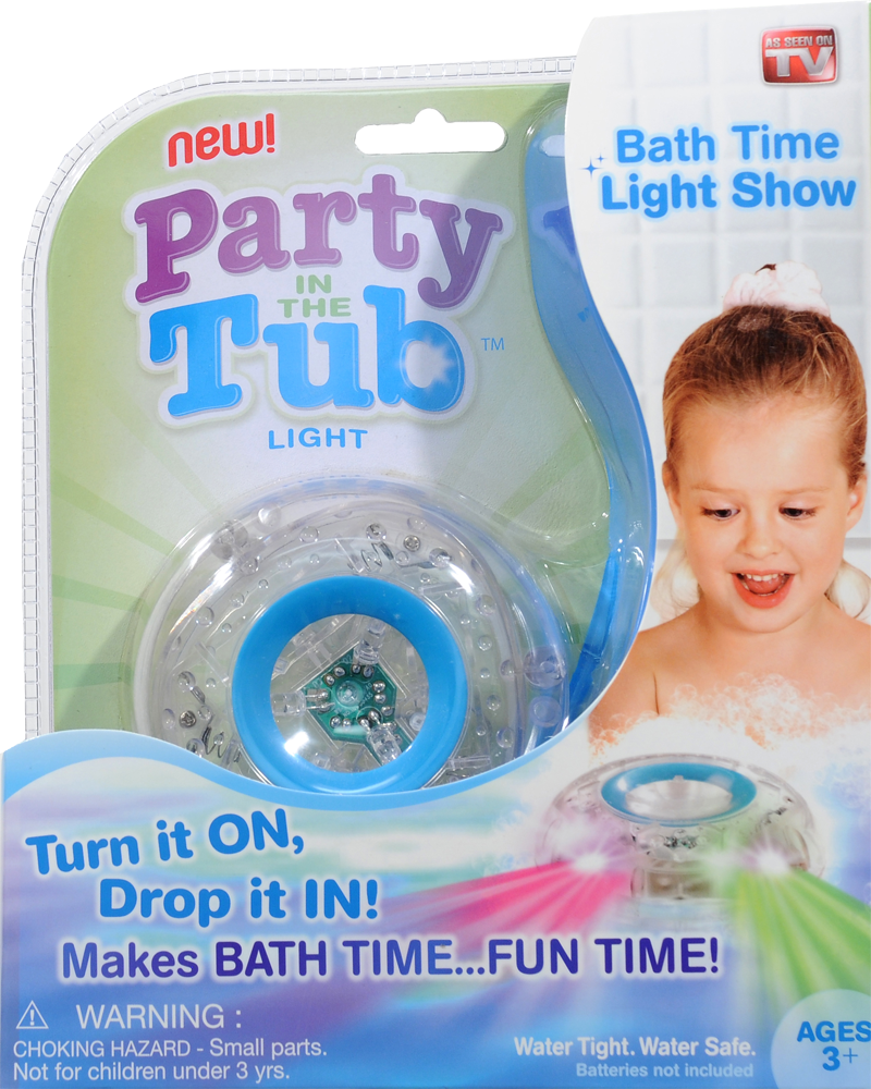 Party In The Tub Light As Seen On Tv – Unique Birthday Party