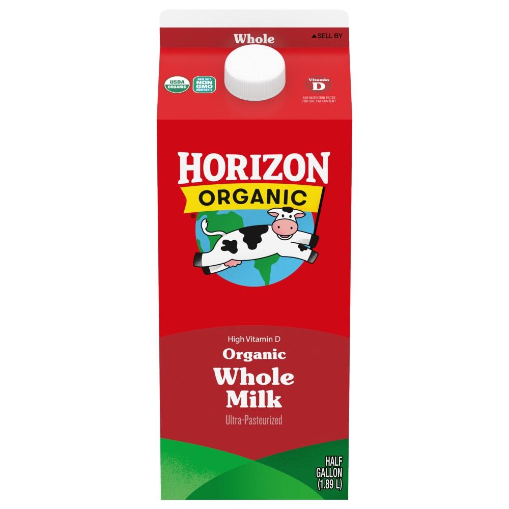 Kroger Horizon Organic Vitamin D Whole Milk 1 2 Gal