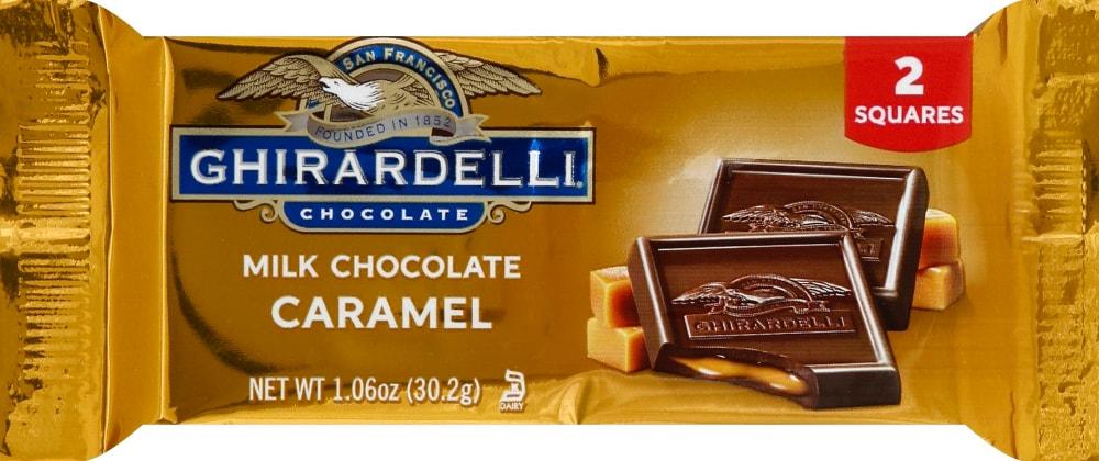 Ghirardelli Milk Chocolate Caramel