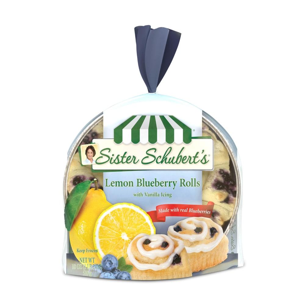Pay Less Super Markets Sister Schubert S Lemon Blueberry Rolls