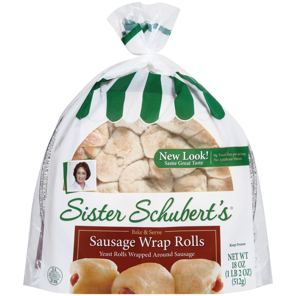 Kroger Sister Schubert S Bake Serve Sausage Wrap Rolls 18 Oz