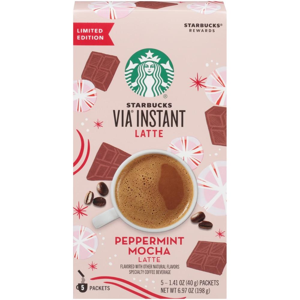 Kroger Starbucks Via Instant Peppermint Mocha Latte