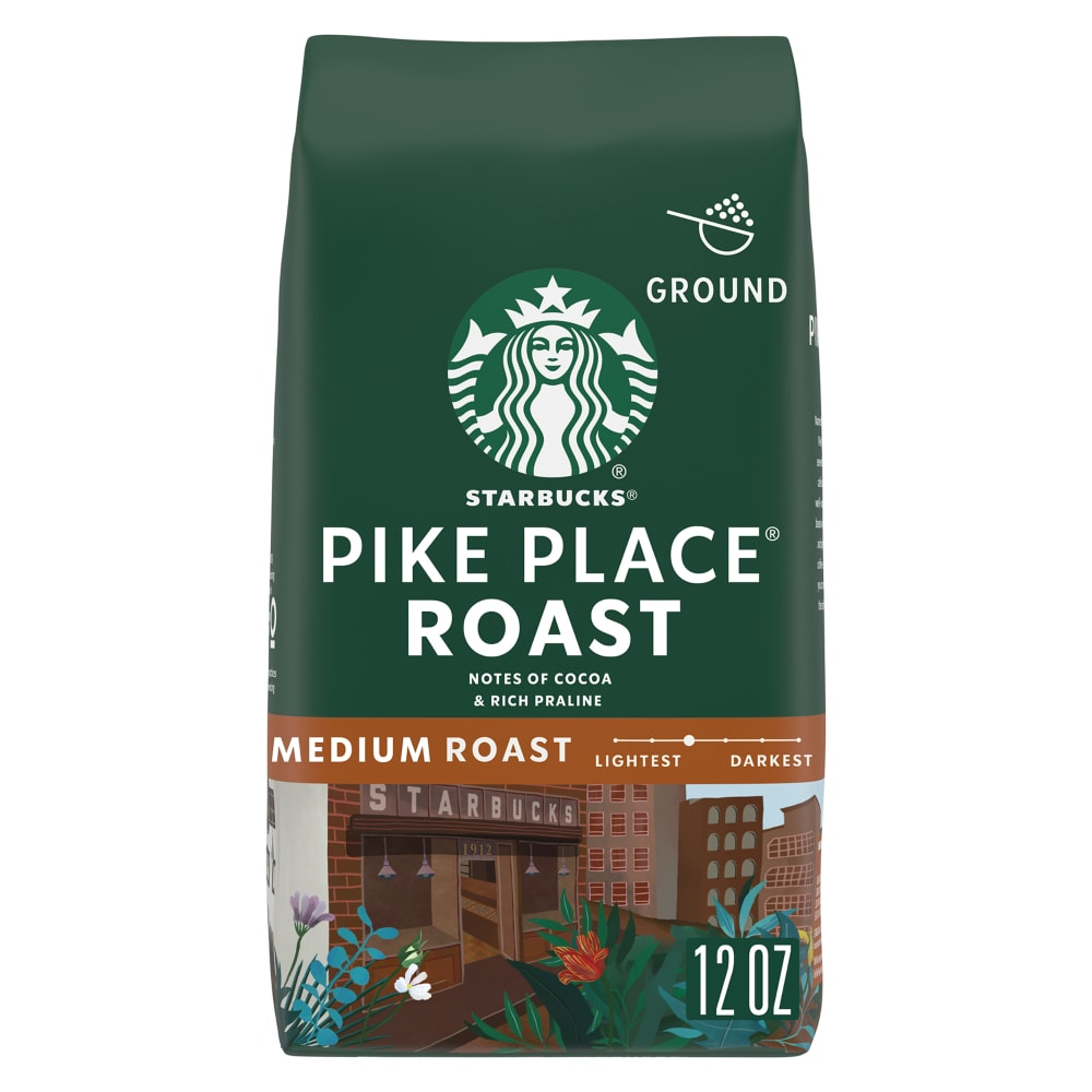 Pikes Peak Coffee >> Kroger Starbucks Pike Place Roast Coffee