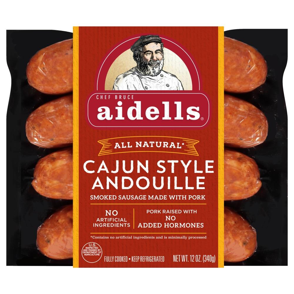 Aidells Smoked Pork Sausage Cajun Style