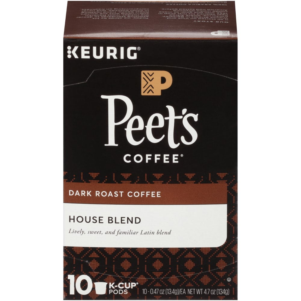 Dark Roast Coffee K-Cup Pods