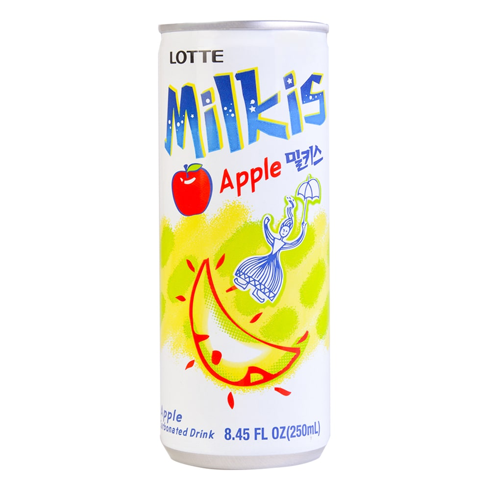 Food 4 Less Lotte Milkis Apple Carbonated Drink 8 45 Fl Oz