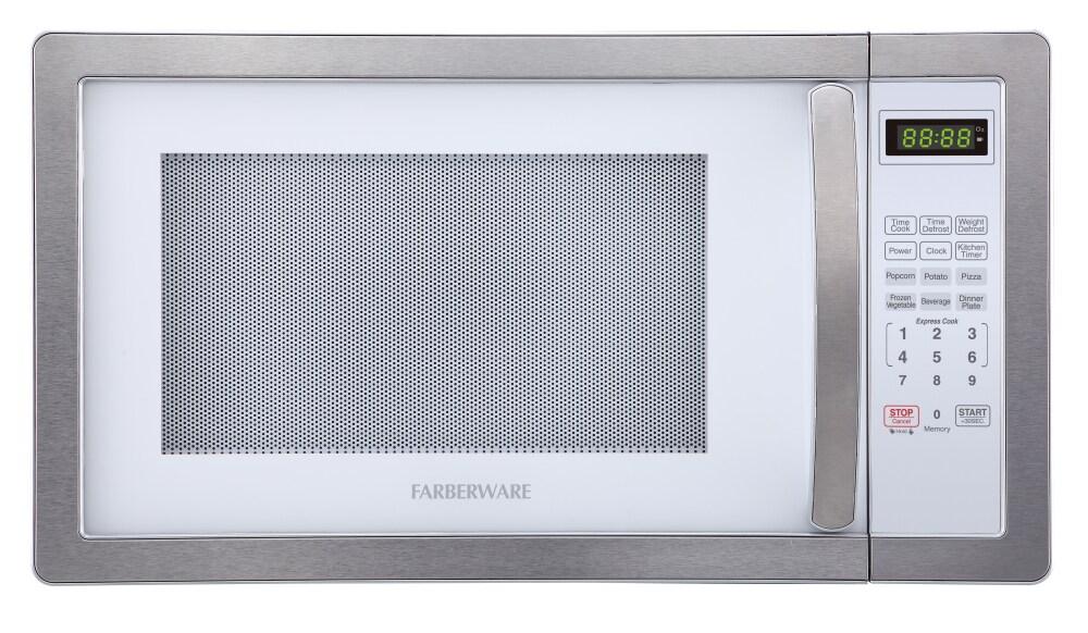 Fred Meyer Farberware Classic 1000 Watt Microwave Oven 1 1 Cu Ft
