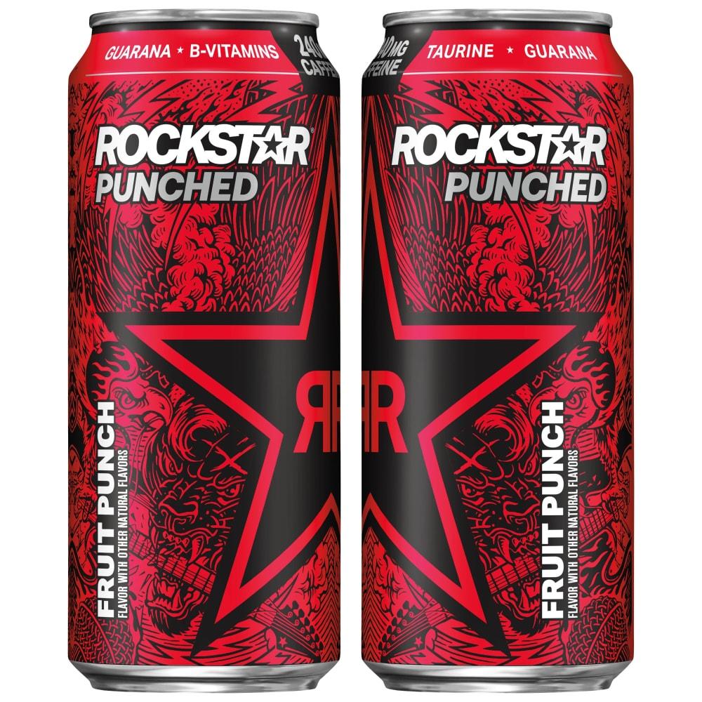 Kroger Rockstar Punched Energy Drink 16 Fl Oz