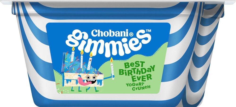 Chobani Gimmies Best Birthday Ever