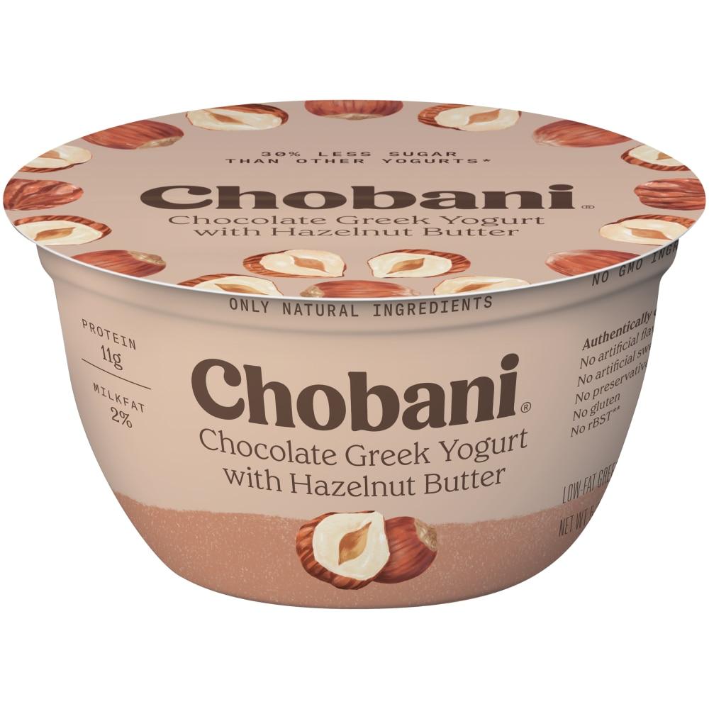 Mariano S Chobani Chocolate With Hazelnut Butter Greek Yogurt 5 3 Oz
