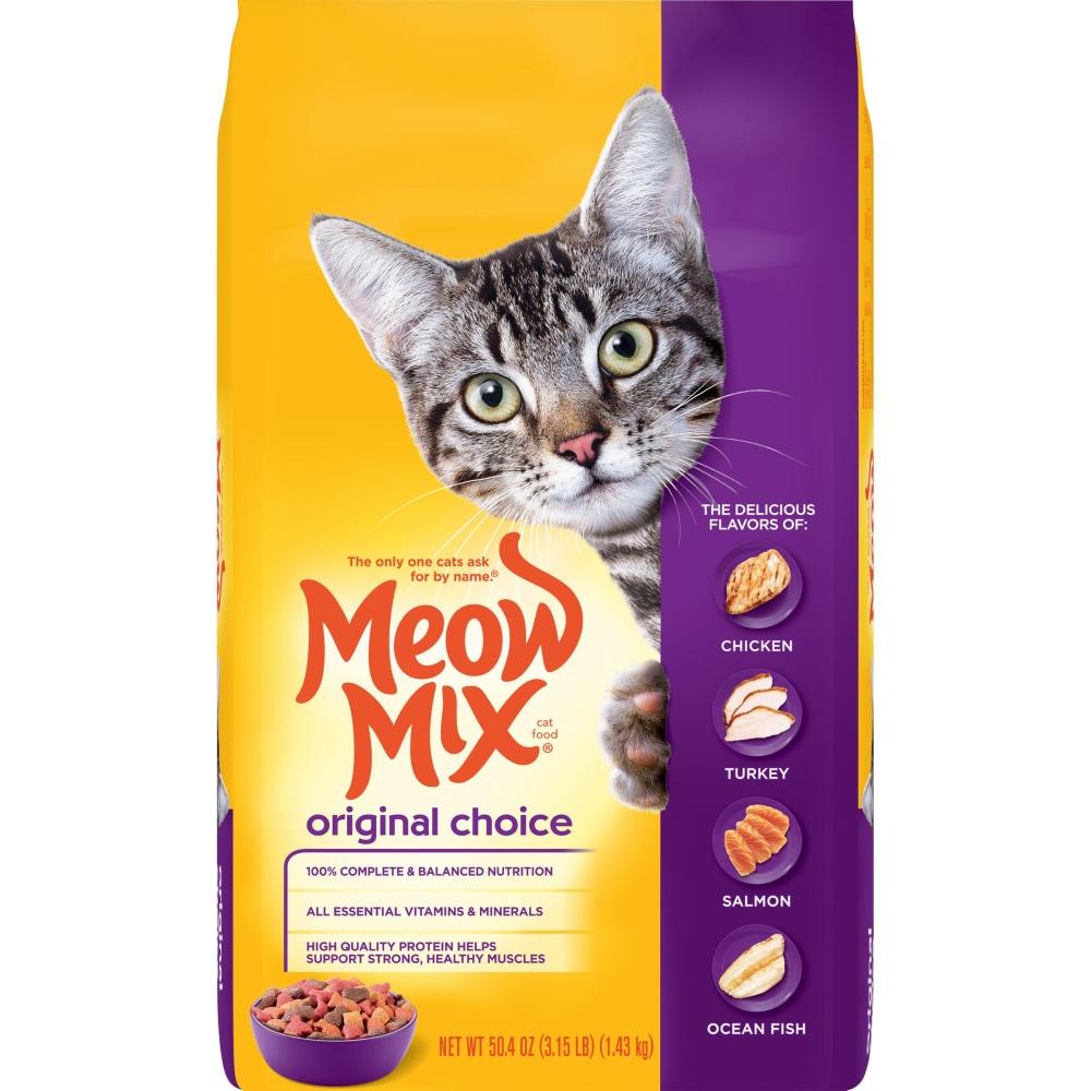 Kroger Meow Mix Original Choice Dry Cat Food 3 15 Lb