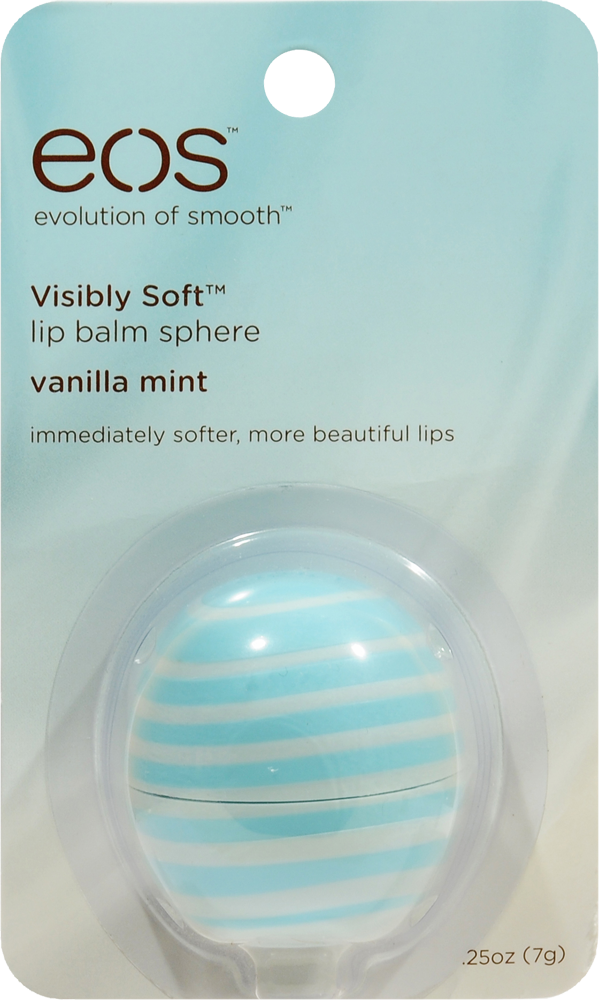 Smith's Food and Drug - EOS Visibly Soft Vanilla Mint Lip Balm