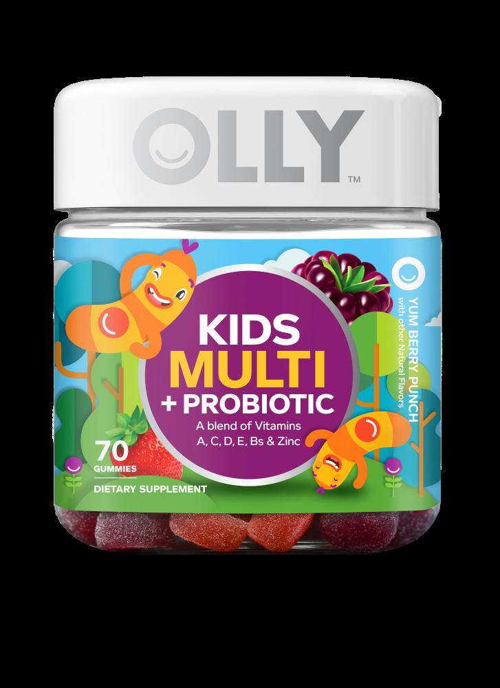 Kroger Olly Kids Multi Probiotic Vitamins Gummies 70 Ct