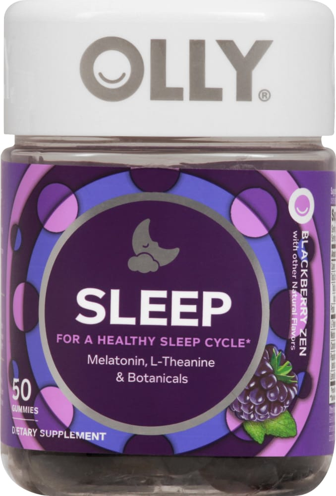Kroger Olly Sleep Blackberry Zen Gummies 50 Ct