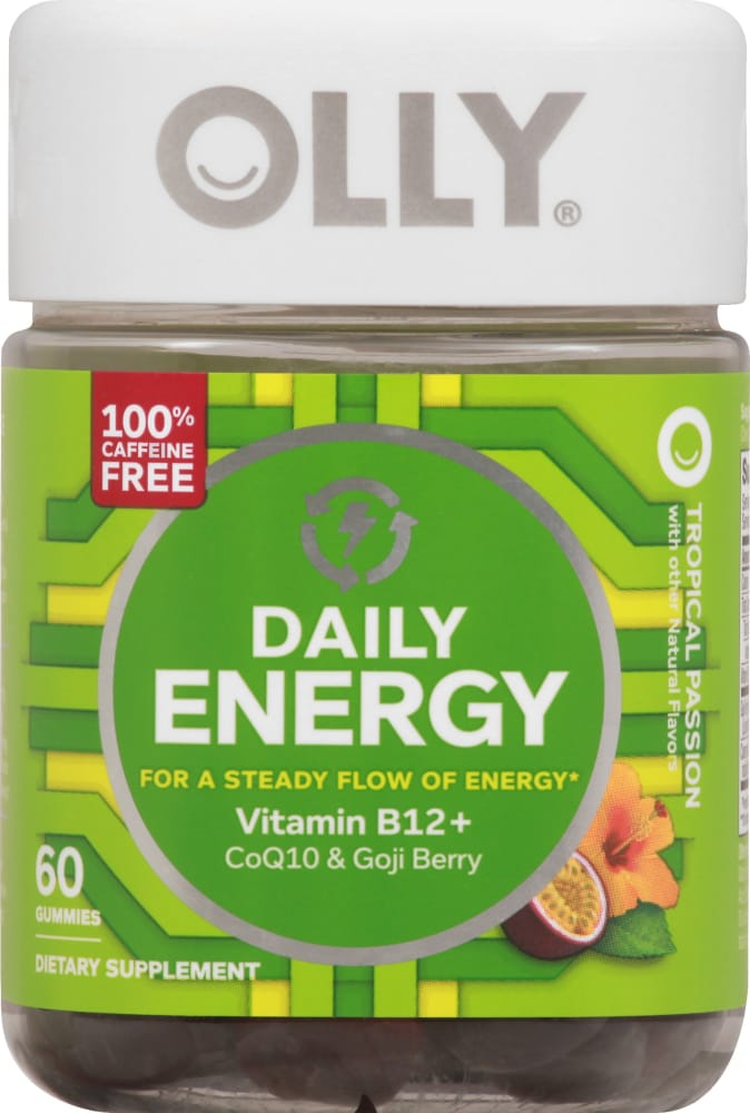 Ralphs Olly Daily Energy Vitamin Gummies 60 Ct