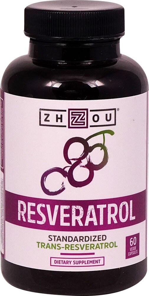 Ralphs Zhou Resveratrol 60 Veggie Capsules