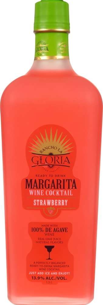 Fry S Food Stores Rancho La Gloria Ready To Drink Strawberry Margarita 50 72 Fl Oz