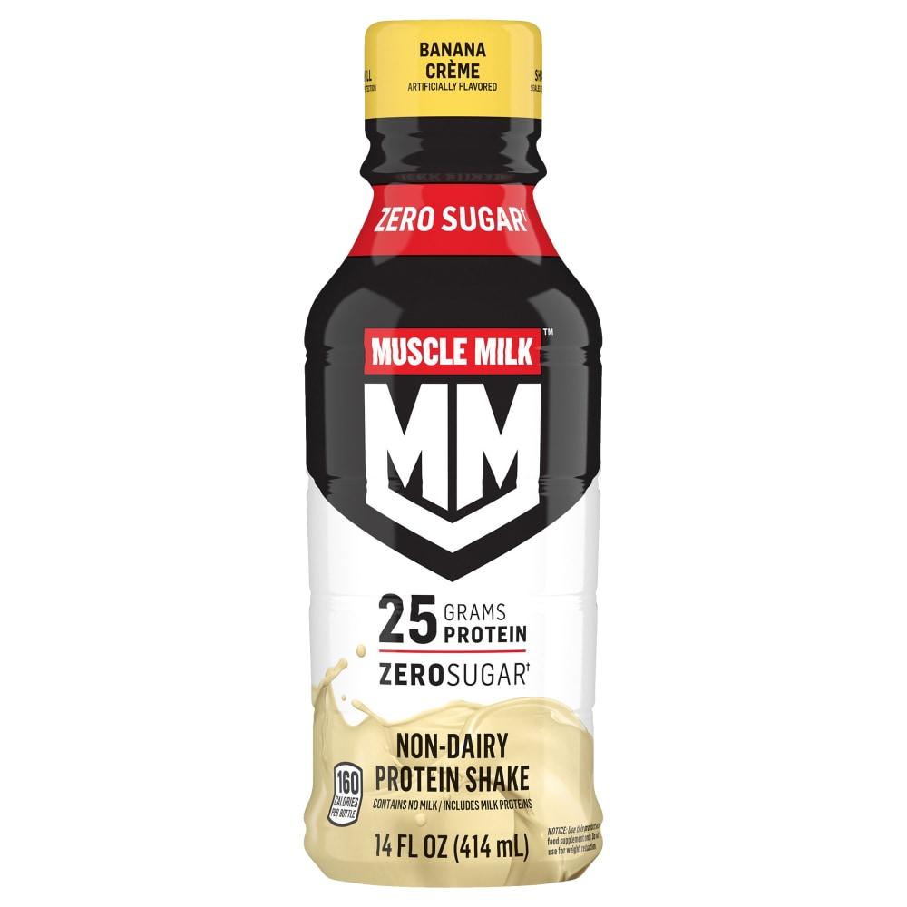 Fred Meyer Muscle Milk Banana Creme Flavored Protein Shake 14 Fl Oz