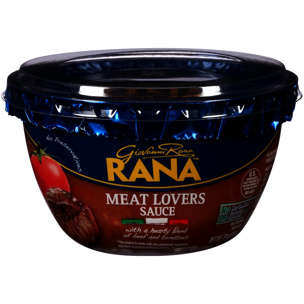giovanni rana bolognese sauce perspective front