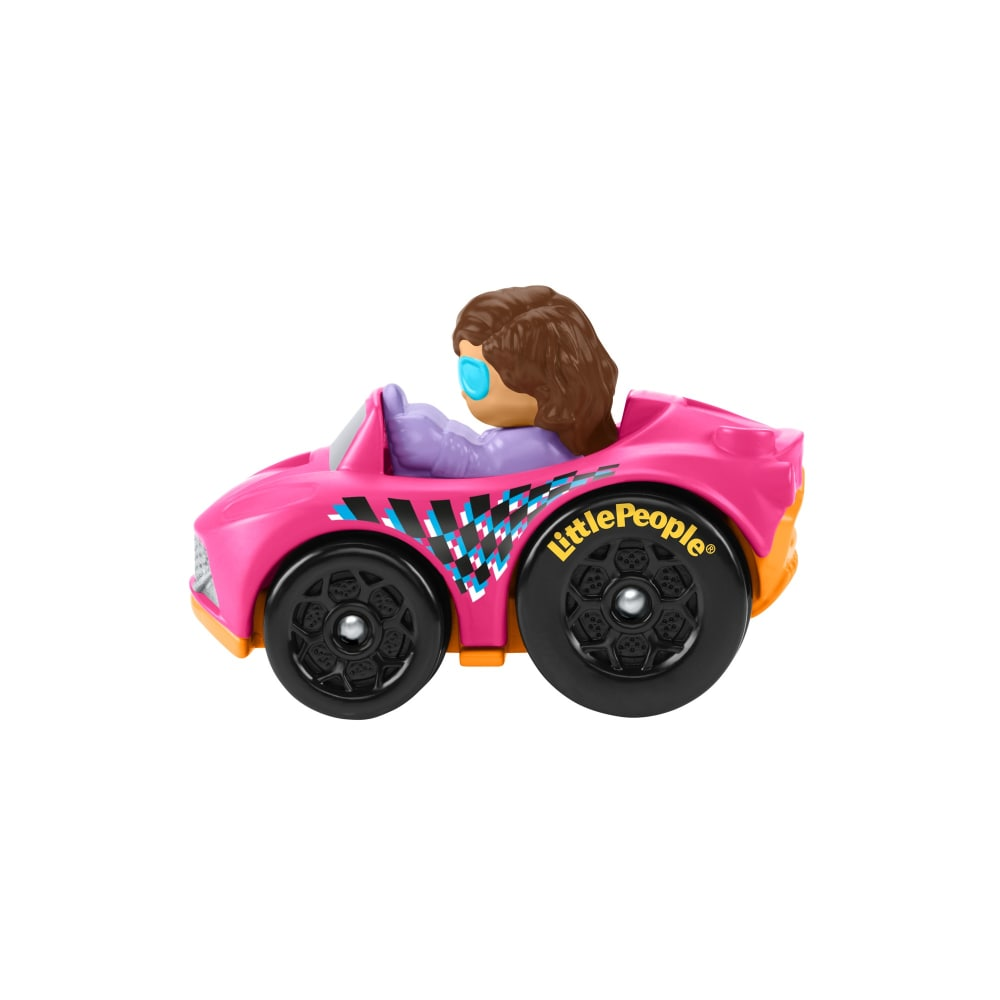 Fisher-Price Little People Wheelies Race /& Muscle Car