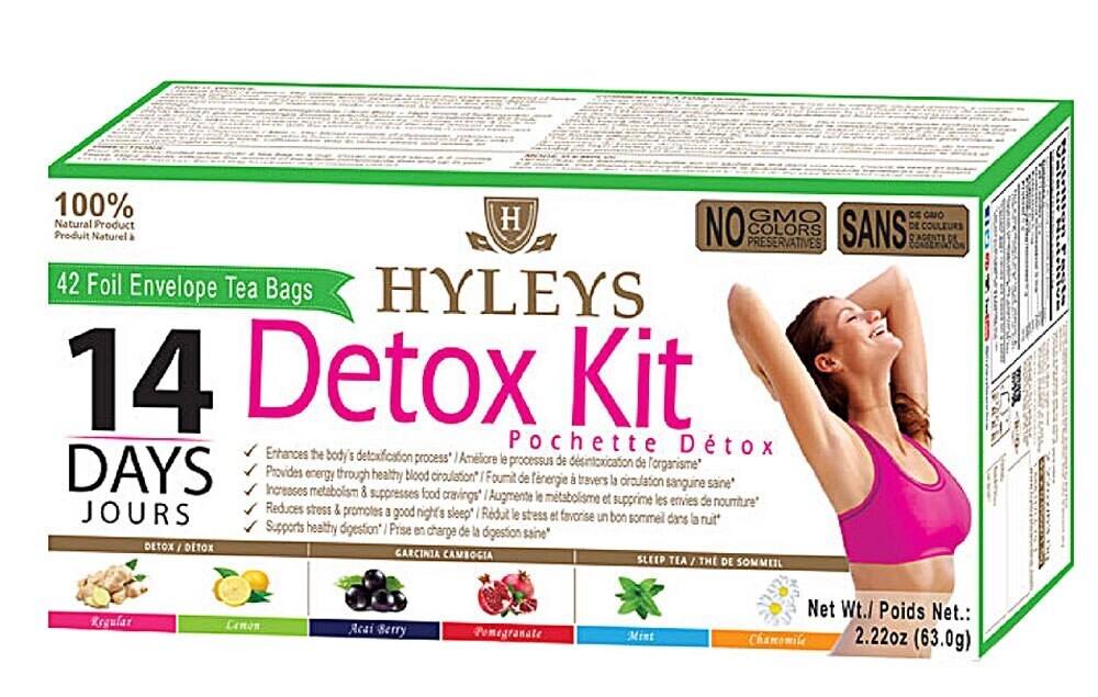 Fry S Food Stores Hyleys Tea Detox Kit 42 Ct