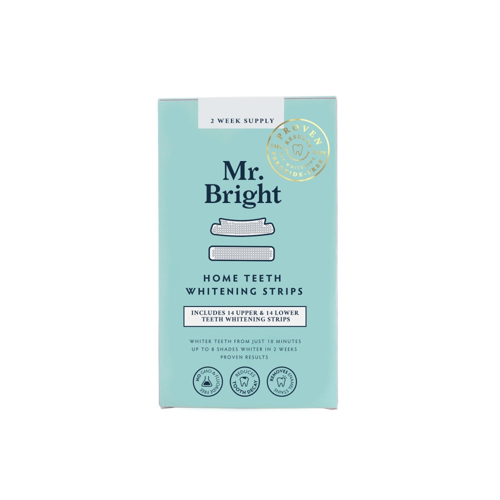 Food 4 Less Mr Bright Teeth Whitening Strips 28 Ct