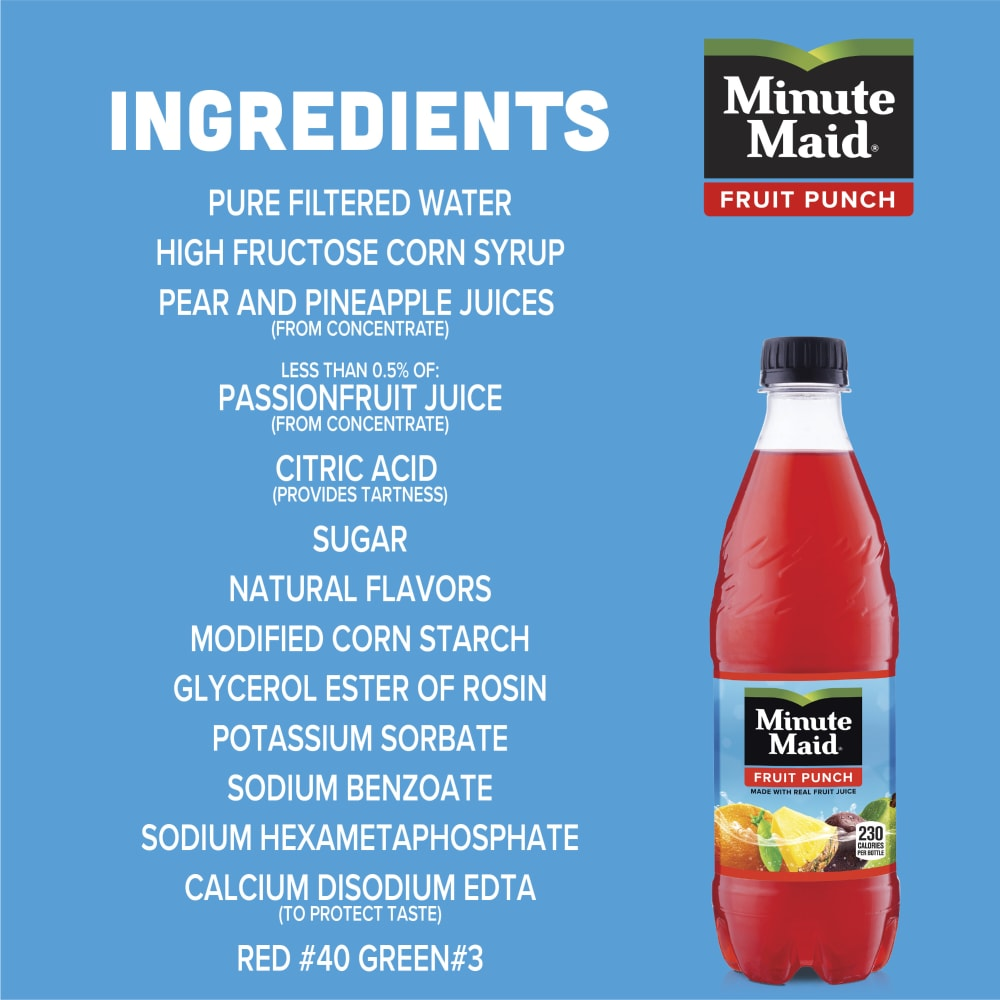 Food 4 Less - Minute Maid Fruit Punch