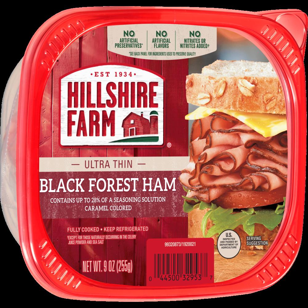 Hillshire Farm Ultra Thin Sliced Black Forest Ham Lunchmeat 9 Oz Kroger