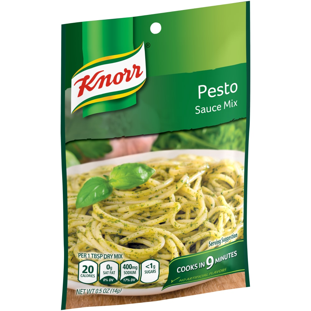 Kroger Knorr Pesto Sauce Mix 0 5 Oz