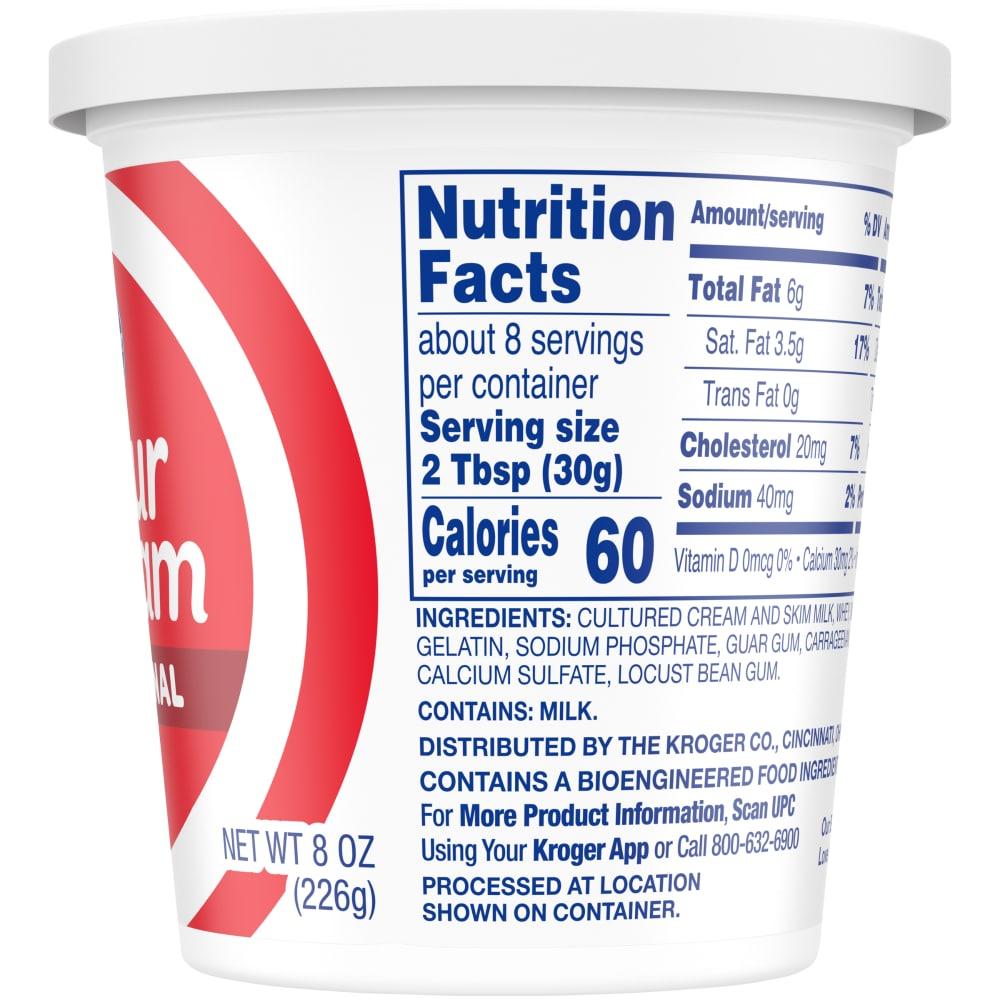 Kroger - Kroger® Original Sour Cream, 8 oz