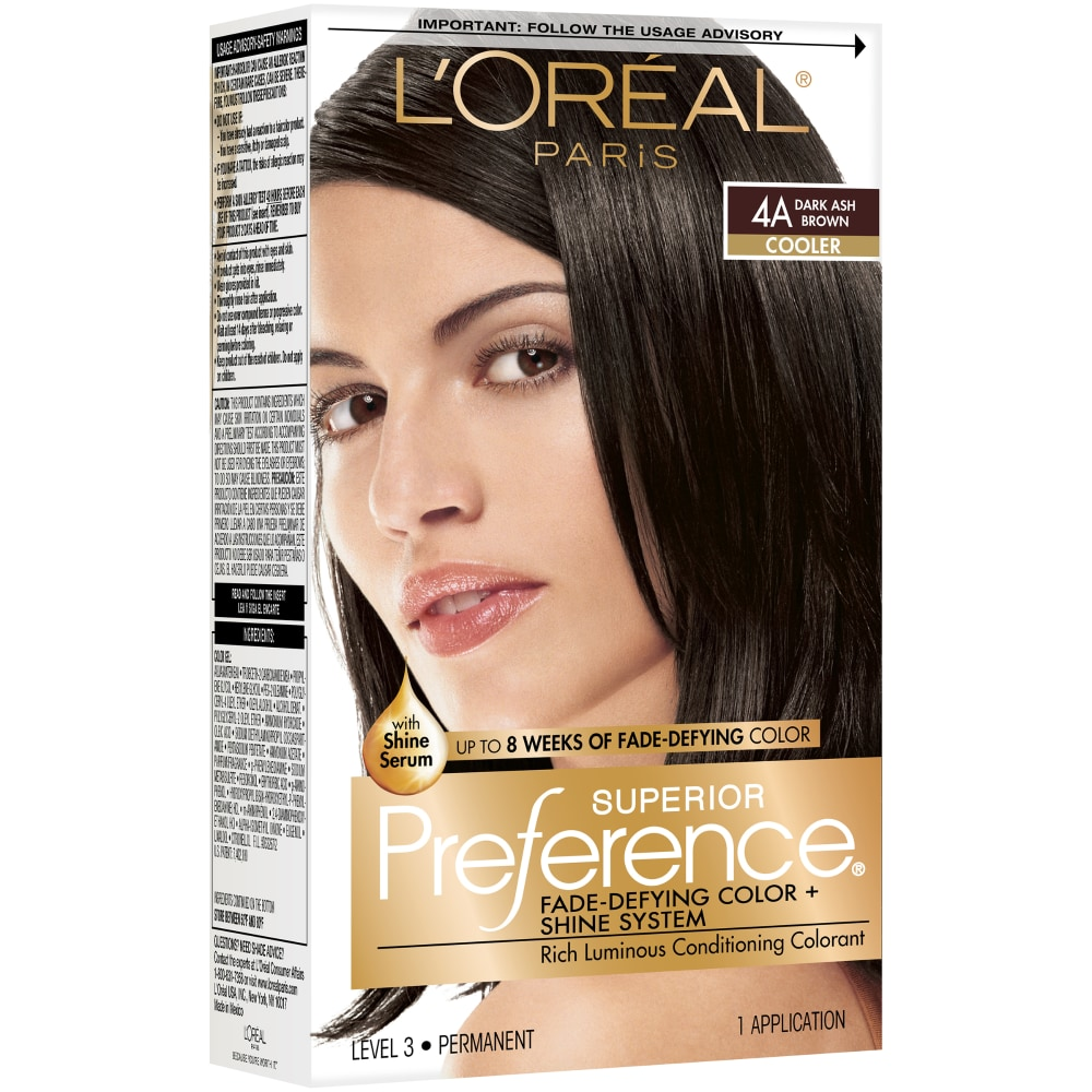 King Soopers L Oreal Paris Superior Preference 4a Dark Ash Brown Cooler Permanent Hair Color Kit 1 Ct,Blue And White Porcelain Decorating Ideas